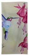 Hummingbird I Beach Towel