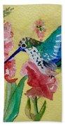 Hummingbird II Beach Towel