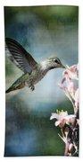 Hummingbird  Beach Towel