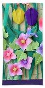 Hummingbird's Delight By Mary Ellen Palmeri Beach Towel