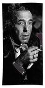 Humphrey Bogart Portrait #2 Circa 1954-2014 Beach Towel