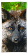 Hungry Eyes Beach Towel