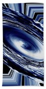 Hurricane In Space Abstract Beach Towel