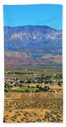 Hurricane Utah And Red Cliffs Nca Beach Towel