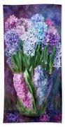 Hyacinth In Hyacinth Vase 1 Beach Towel