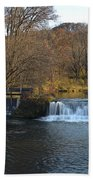 Hyde Mill Wisconsin Beach Towel