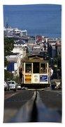 Hyde Street Cable Car 1978 Beach Towel