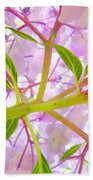 Hydrangea Flower Inside Floral Art Prints Baslee Troutman Beach Towel