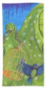 I Know Why The Caged Bird Sings Pro Beach Towel