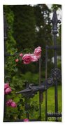I Never Promised You A Rose Garden Beach Towel