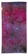 Ic 1396 And Garnet Star In Cepheus Beach Towel