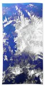 Ice Burst Beach Towel