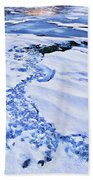 Ice Cube Creek Beach Towel