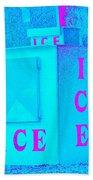 Ice Ice Baby Beach Towel