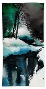 Ice Land Beach Towel
