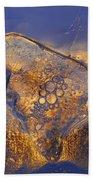Ice Land Beach Towel by Sami Tiainen