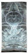 Ice Temple Beach Towel