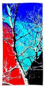 Ice Tree Beach Towel by Eikoni Images