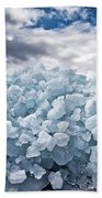 Ice Wall Beach Towel