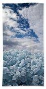 Ice Wall II Beach Towel