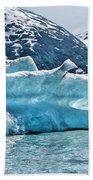 Iceberg Glacier Alaska  Beach Towel