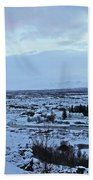 Iceland Country Side Clouds Mountains Stream Iceland Rocks Lake Clouds Iceland 2 2112018 0971 Beach Towel