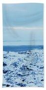 Iceland Rocks Lake Clouds Iceland 2 2112018 0935 Beach Towel