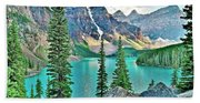 Iconic Banff National Park Attraction Beach Towel