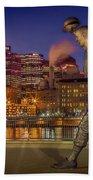 Iconic Pittsburgh Beach Towel
