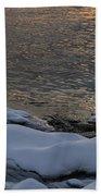 Icy Islands - Beach Towel
