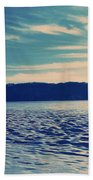 Icy River Beach Towel