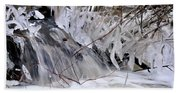 Icy Spring Beach Towel