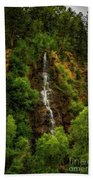Idaho Springs Waterfall Beach Towel