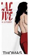 Ideal Love Book Cover Beach Sheet