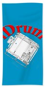 iDrum Beach Towel