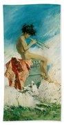 Idyll Beach Towel by Mariano Fortuny y Marsal