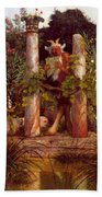 Idyll Pan Amidst Columns 1875 Beach Towel