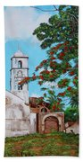 Iglesia De Santa Anna Beach Towel