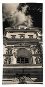 Iglesia San Francisco - Antigua Guatemala Bnw I Beach Towel