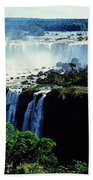 Iguacu Waterfalls Beach Towel