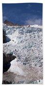 Illampu Glacier Beach Towel