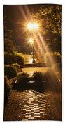 Illuminated Retreat Beach Towel