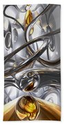 Illusions Abstract Beach Towel