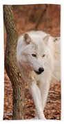 I'm A Wolf Beach Towel