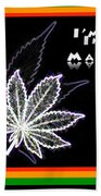 I'm Crazy In Love With Mary Jane Beach Towel
