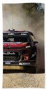 imagejunky_KB - RallyRACC WRC Spain - Lefebvre / Patterson Beach Towel