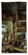 Imaginary Gallery Of Views Of Ancient Rome Beach Towel