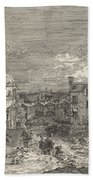 Imaginary View Of Venice Beach Towel
