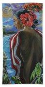 Imagines Boricuas Beach Towel