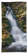 Imp Trail Cascade Beach Towel